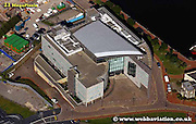 aerial photograph of Atradius Building Cardiff Wales  UK