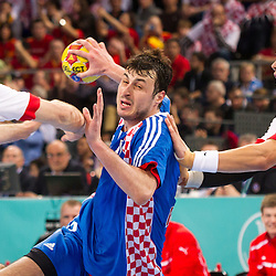 20130125: ESP, Handball -Semifinal at IHF Handball World Championship Spain 2013, Denmark vs Croatia