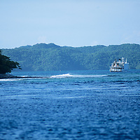 Republic of Palau, Live a board scuba dive operation