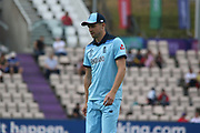 Chris Woakes during the ICC Cricket World Cup 2019 warm up match between England and Australia at the Ageas Bowl, Southampton, United Kingdom on 25 May 2019.