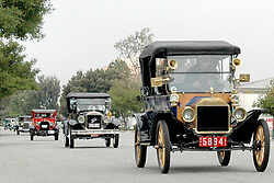 H:\EDITORIAL\Photos\05 May 2009\JH 5-07-09 DAYS GONE BYóWith hopes of keeping the Conejo Valley Days parade tradition alive, members of the Conejo Valley Model A Ford Club, lead by Thousand Oaks resident Al Koch in his 1914 Model T Touring Car,  drive along Thousand Oaks Blvd. on Saturday, May 2 in Thousand Oaks.