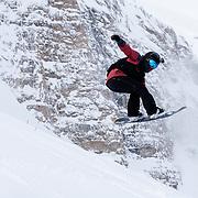 Erika Vikander airing the bottom jump.