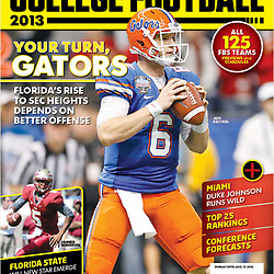 USA Today Sports - College Football 2013 Preview - Florida Gators - Jeff Driskel