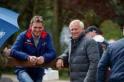 ZEILINGER Rudolf (Trainer), WITTIG Wolfram (Trainer)<br /> Hagen - Horses and Dreams meets the Royal Kingdom of Jordan 2018<br /> Grand Prix de Dressage<br /> 26. April 2018<br /> www.sportfotos-lafrentz.de/Stefan Lafrentz