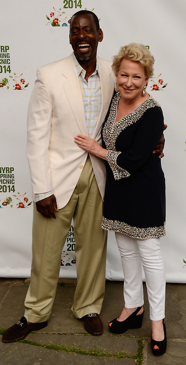 05/29/14 New York City ,  / Ron Finley, Bette Midler at Bette Midler's NYRP 13th Annual Spring Picnic /