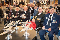 """Five RAF veterans of World War Two (L-R: Laurence """"Benny"""" Goodman, Jack Toper, Bernard Carton, Alfred Guberman and Ralph Levy) at Hidden Heroes, an event celebrating the part played by Jewish volunteers in the Royal Air Force during World War Two, at the RAF Museum in London.  The event is part of celebrations to mark the centenary of the RAF. Photo date: Thursday, November 15, 2018. Photo credit should read: Richard Gray/EMPICS"""