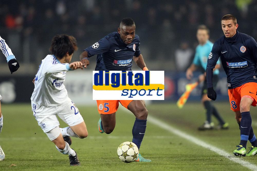 MONTPELLIER FACE A Schalke 04