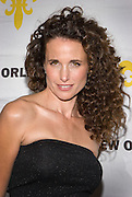 Andie MacDowell at Saks Fifth Avenue New Orleans Grand Opening