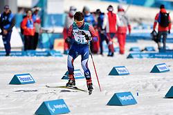 REITER Ruslan USA LW8 competing in the ParaBiathlon, Para Biathlon at  the PyeongChang2018 Winter Paralympic Games, South Korea.
