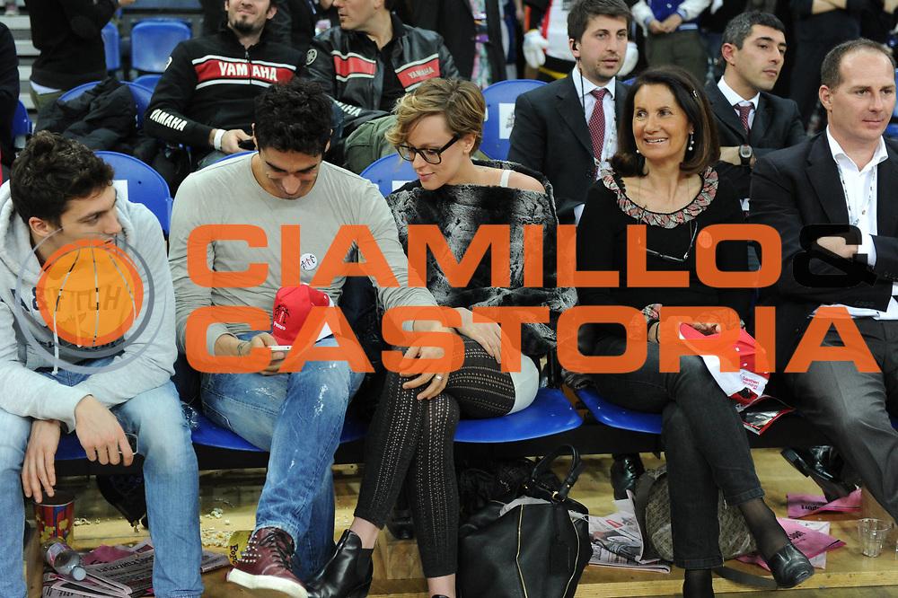 DESCRIZIONE : Pesaro Edison All Star Game 2012<br /> GIOCATORE : Filippo Magnini Federica Pellegrini<br /> CATEGORIA : curiosita<br /> SQUADRA : Italia<br /> EVENTO : All Star Game 2012<br /> GARA : Italia All Star Team<br /> DATA : 11/03/2012 <br /> SPORT : Pallacanestro<br /> AUTORE : Agenzia Ciamillo-Castoria/GiulioCiamillo<br /> Galleria : FIP Nazionali 2012<br /> Fotonotizia : Pesaro Edison All Star Game 2012<br /> Predefinita :