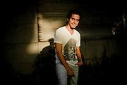 NICOLAS BROWN, ACTOR CHILENO. (Alvaro de la Fuente/TRIPLE.cl)