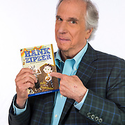 Portrait and photographs of actor and author Henry Winkler at his home in Brentwood, California.