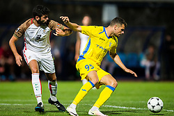 Antonio Mance of NK Domzale during football match between NK Domzale and FC Lusitanos Andorra in second leg of UEFA Europa league qualifications on July 7, 2016 in Andorra la Vella, Andorra. Photo by Ziga Zupan / Sportida