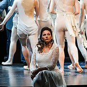 Sylvia Schwartz as Zerlina with students of the Budapest acting Academy in Mozart's opera at the Festival Theatre showing on 9th, 11th and 12th August as part of the Edinburgh International Festival 2017. 08 Aug 2017. Copyright photograph by Tina Norris. Not to be archived or reproduced without prior permission and payment. Contact Tina on 07775 593 830 info@tinanorris.co.uk www.tinanorris.co.uk http://tinanorris.photoshelter.com