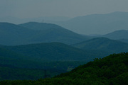 Mountain Ridges, Skyline Drive, VA, USA Landscapes