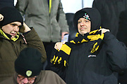 Burton fans during the EFL Sky Bet League 1 match between Burton Albion and Oxford United at the Pirelli Stadium, Burton upon Trent, England on 11 February 2020.