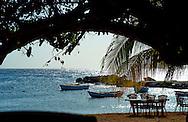 Sea view near Sea Side Terrace, Marie Pampoen, Curaçao 2014