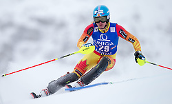 29.12.2014, Hohe Mut, Kühtai, AUT, FIS Ski Weltcup, Kühtai, Slalom, Damen, 1. Durchgang, im Bild Erin Mielzynski (CAN) // Erin Mielzynski of Canada in action during 1st run of Ladies Slalom of the Kuehtai FIS Ski Alpine World Cup at the Hohe Mut Course in Kuehtai, Austria on 2014/12/29. EXPA Pictures © 2014, PhotoCredit: EXPA/ JFK