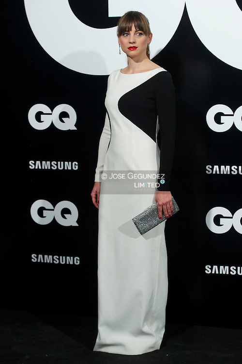 Leonor Watling attends 'GQ Men of the Year 2012' awards on November 19, 2012 in Madrid, Spain.