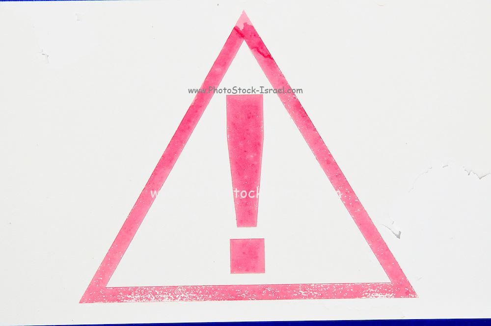 Warning - danger sign
