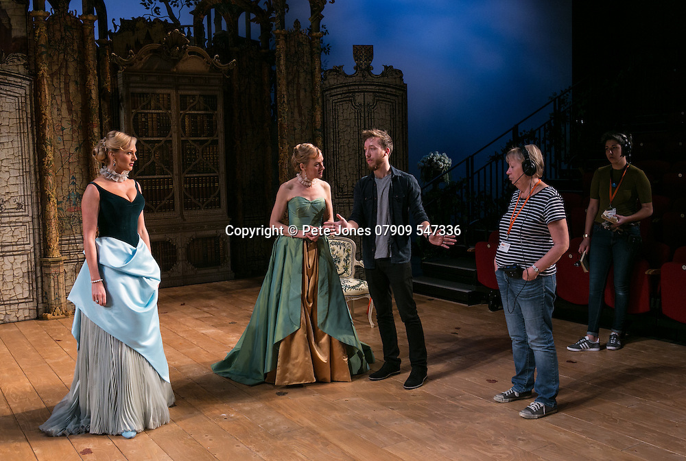 The Rehearsal by Jean Anouilh;<br /> Directed by Jeremy Sams;<br /> Niamh Cusack as The Countess;<br /> Katherine Kingsley as Hortensia;<br /> Assistant Director &amp; ASM's;<br /> Minerva Theatre, Chichester;<br /> 13 May 2015
