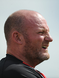 Scott Machin, Manager, Kettering Town, Kettering Town v Aylesbury Utd, Southern League, Burton Park, Kettering, 9th August 2014
