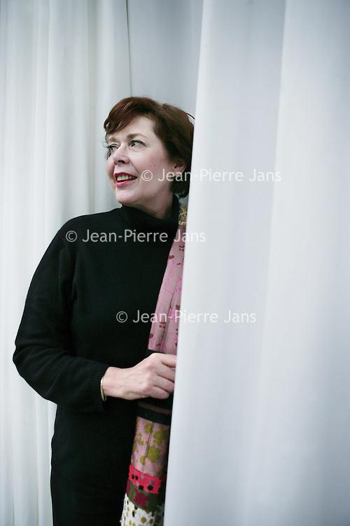 Nederland,Amsterdam ,21 februari 2007..Sylvia Kristel.