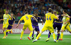 Marcos Tavares #9 of Maribor during First Leg football match between NK Maribor and FC Astana in Second qualifying round of UEFA Champions League, on July 14, 2015 in Stadium Ljudski vrt, Maribor, Slovenia. Photo by Vid Ponikvar / Sportida