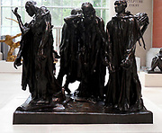 The Burghers of Calais. Sculpture in Bronze by Auguste Rodin (French, Paris 1840–1917 Meudon). modelled 1884–95, cast 1985
