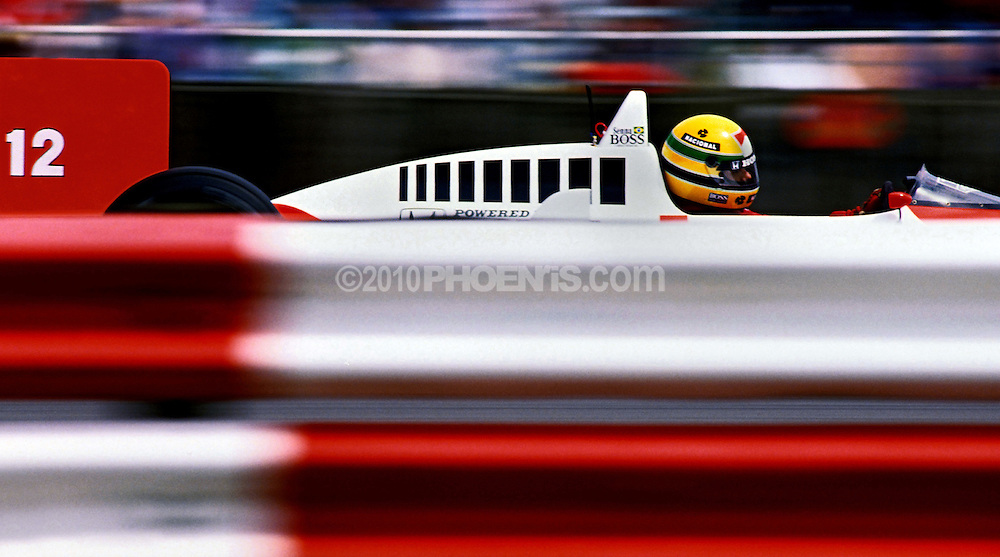 """From the book """"50"""" a personal photographic memoir of Ayrton Senna. .A selection of images taken in the Formula One seasons 1987, 1988 and 1989 .at Silverstone, England...All rights reserved.For reproduction permission please email: 50@phoenris.com"""