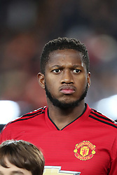 December 12, 2018 - Valencia, Spain - December 12, 2018 - Valencia, Spain - .Fred of Manchester United during the UEFA Champions League, Group H football match between Valencia CF and Manchester United on December 12, 2018 at Mestalla stadium in Valencia, Spain (Credit Image: © Manuel Blondeau via ZUMA Wire)