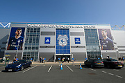 General view outside the Cardiff City Stadium ahead of the EFL Sky Bet Championship match between Cardiff City and Middlesbrough at the Cardiff City Stadium, Cardiff, Wales on 21 September 2019.