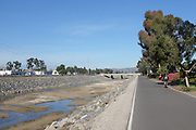 San Diego Creek Bike Trail in Irvine