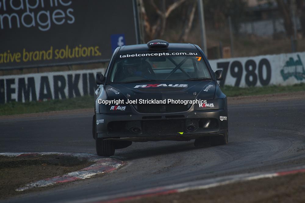 Jamie Sargeant - Mitsubishi Evo 9 - Rallycross Australia - Winton Raceway - 16th July 2017
