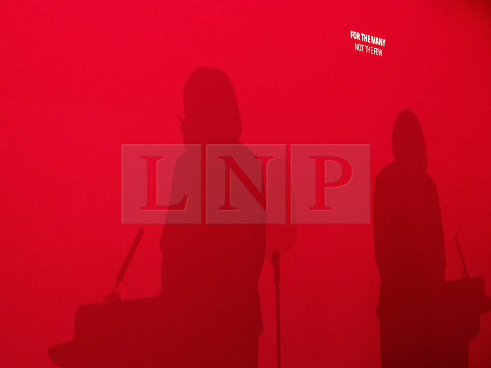 © Licensed to London News Pictures . 22/03/2018. Manchester, UK. DIANE ABBOTT . Jeremy Corbyn and Shadow Cabinet members launch the Labour Party's local election campaign at Stretford Sports Village in Trafford . Photo credit: Joel Goodman/LNP