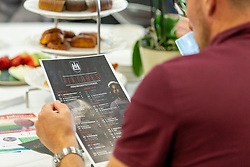 Guests review the fixtures lists - Ryan Hiscott/JMP - 21/06/18 - Ashton Gate Stadium - Bristol, England - Bristol City 2018-19 Fixtures Release Day and Q&A Session