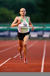 Slovenian runner Bostjan Buc in Velenje, on June 28, 2007.  (Photo by Vid Ponikvar / Sportal Images)