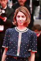 Director Sofia Coppola at the Foxcatcher gala screening red carpet at the 67th Cannes Film Festival France. Monday 19th May 2014 in Cannes Film Festival, France.