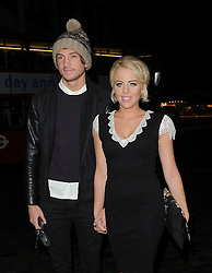 The Only Way Is Essex stars Lydia Bright and Tom Kilbey attend the Lipsy London Love launch party at Gilgamesh in London, UK. 06/11/2012<br />BYLINE MUST READ : GOTCHAIMAGES.COM<br /><br />Copyright by © Gotcha Images Ltd. All rights reserved.<br />Usage of this image is conditional upon the acceptance <br />of Gotcha Images Ltd, terms and conditions available at<br />www.gotchaimages.com