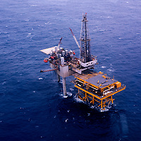 Pemex Oil rig in Mexico