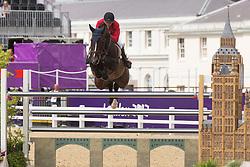 Demeersman Dirk (BEL) - Bufero vh Panishof<br /> Olympic Games London 2012<br /> © Dirk Caremans