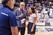 Guido Bagatta, Giulia Cicchinè<br /> Banco di Sardegna Dinamo Sassari - Umana Reyer Venezia<br /> LBA Serie A Postemobile 2018-2019 Playoff Finale Gara 6<br /> Sassari, 20/06/2019<br /> Foto L.Canu / Ciamillo-Castoria