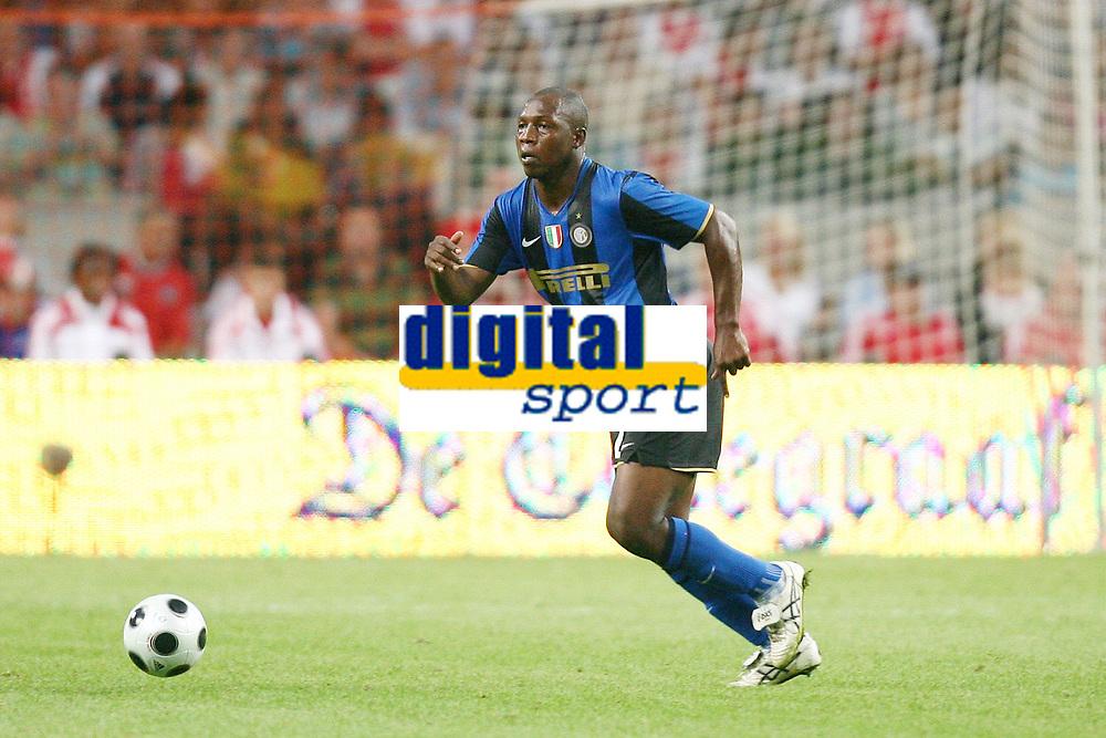Rivas Inter<br /> MG (Olanda) 09/08/2008 - amichevole Lg cup / Ajax-Inter / <br /> Insidefoto