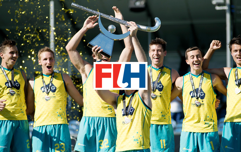 BREDA - Rabobank Hockey Champions Trophy<br /> Final Australia - India<br /> Australia won after shoot outs.<br /> Photo: Aran Zalewski.<br /> COPYRIGHT WORLDSPORTPICS FRANK UIJLENBROEK