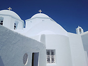 Greece, Amorgos, the Chora.
