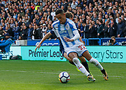 Huddersfield Town's Thomas Ince during the Premier League match between Huddersfield Town and Tottenham Hotspur at the John Smiths Stadium, Huddersfield, England on 30 September 2017. Photo by Paul Thompson.