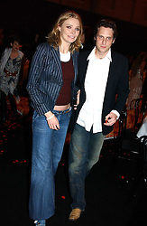 Model JODIE KIDD and MR AIDEN BUTLER at the Moet & Chandon Fashion Tribute 2005 to Matthew Williamson, held at Old Billingsgate, City of London on 16th February 2005.<br /> <br /> NON EXCLUSIVE - WORLD RIGHTS