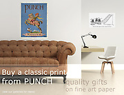 Buy Cartoon Prints and posters from PUNCH. Quality gifts on art paper