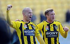 Wellington-Football, A League, Phoenix v Brisbane Roar, October 21