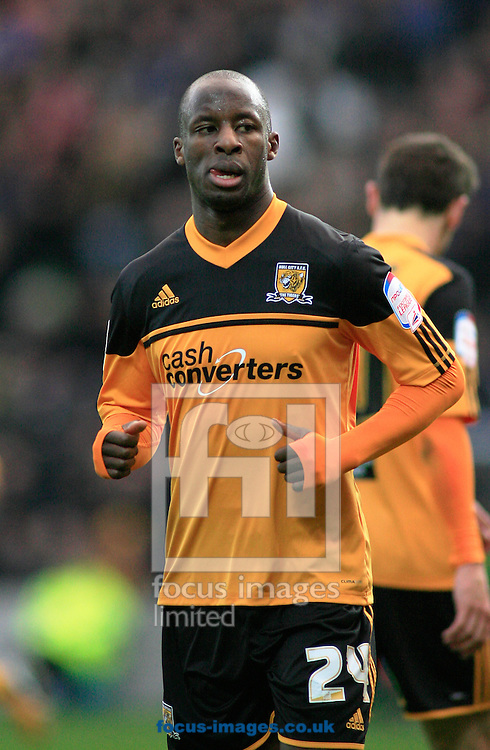 Picture by Richard Gould/Focus Images Ltd +44 7855 403186.03/11/2012.Sone Aluko of Hull City in action during the npower Championship match at the KC Stadium, Kingston upon Hull.